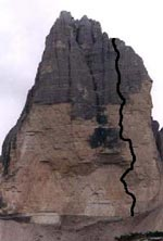 Akut, Cima Ovest, 8a RP, 500 m
