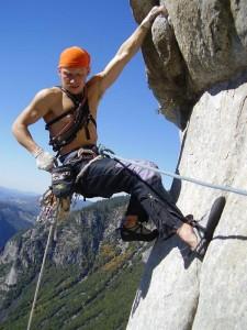 Free Rider, Yosemite 5.12d E3 1000m PP