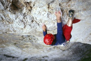 Piz Ciavates, Route Italia 61, 8a, első szabad átmászás