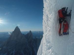 Első téli megmászása a Cerro Torre nyugati falának