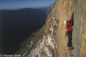 Eiger north face: La vida es Silbar 7c, 27hossz