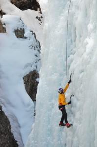 Will Gadd első köre a jégen