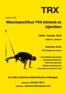 Ujjero TRX plakat